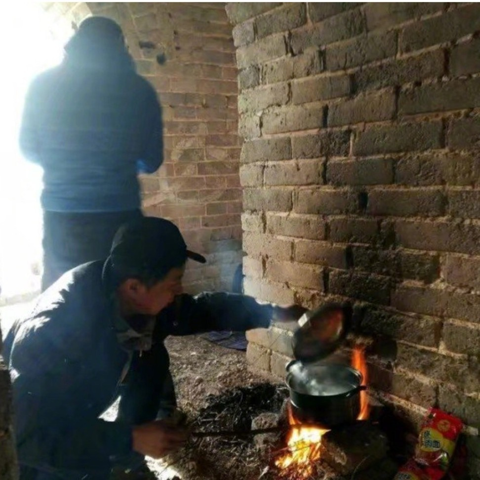 Great Wall of China damaged by visitors cooking meal over