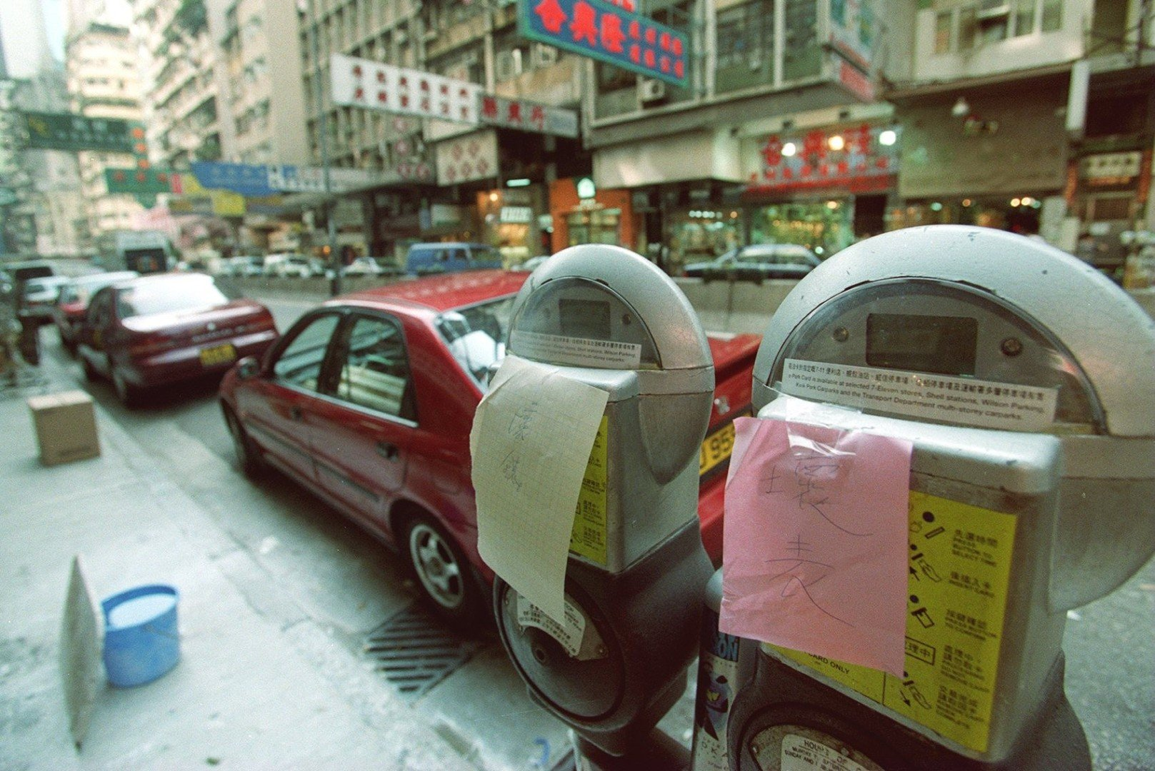 Hong Kong: why are parking spaces gold, while parking is so