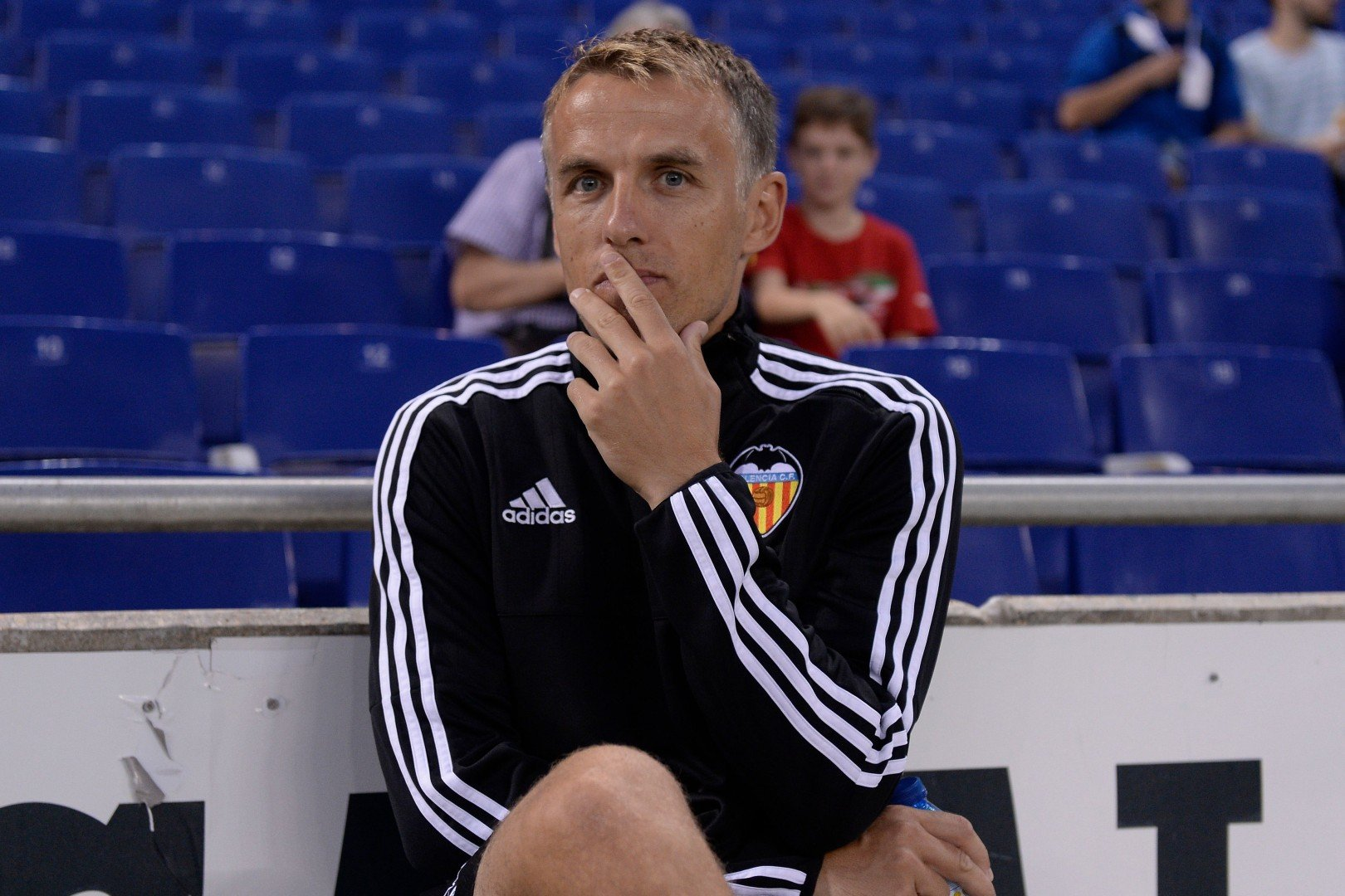 e666e7ff8 New England women s soccer coach Phil Neville deletes Twitter account in   sexist  row