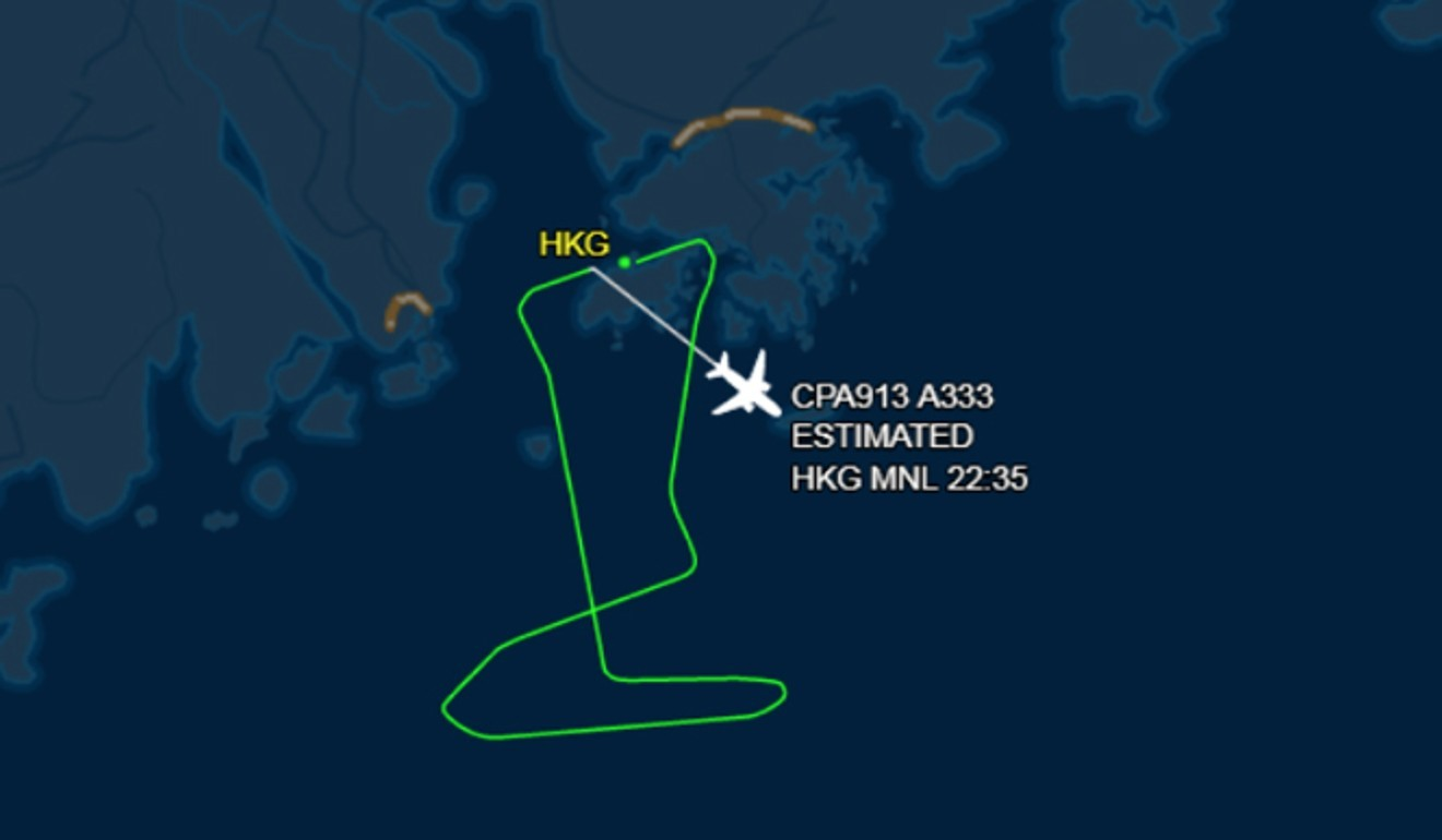805cef79c Cathay Pacific flight makes emergency return to Hong Kong after engine  trouble