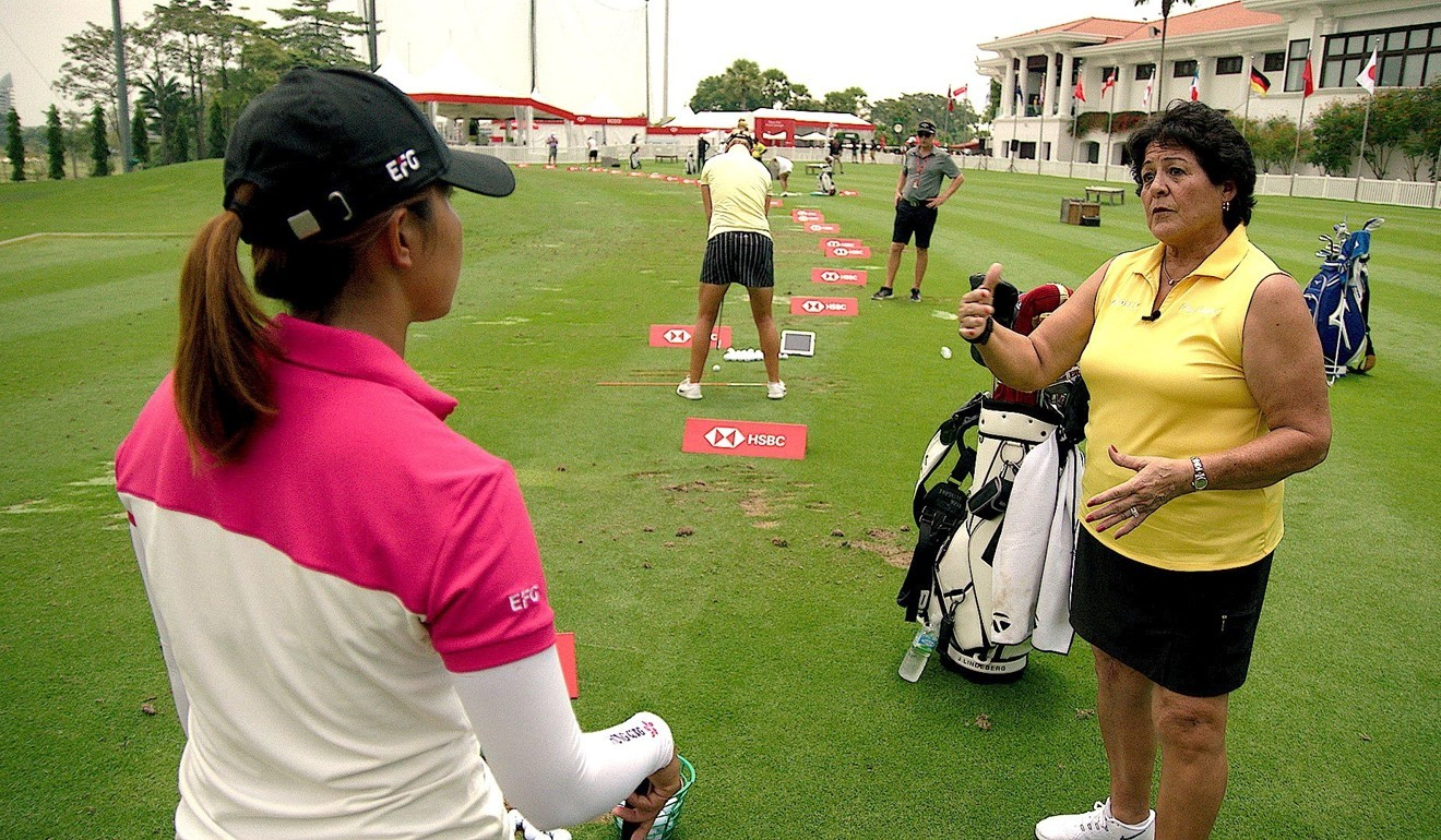 Golf great offers this advice for Hong Kong's Tiffany Chan after