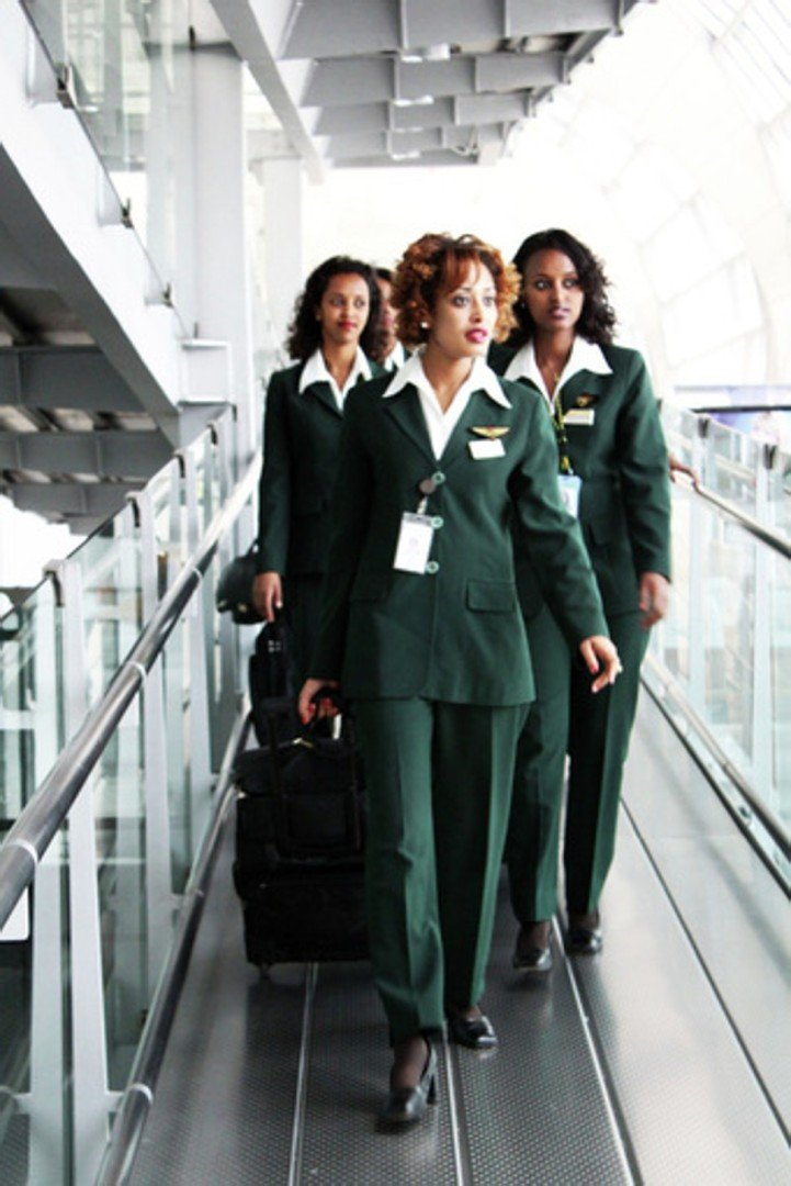 Seven airlines whose female flight attendants wear trousers