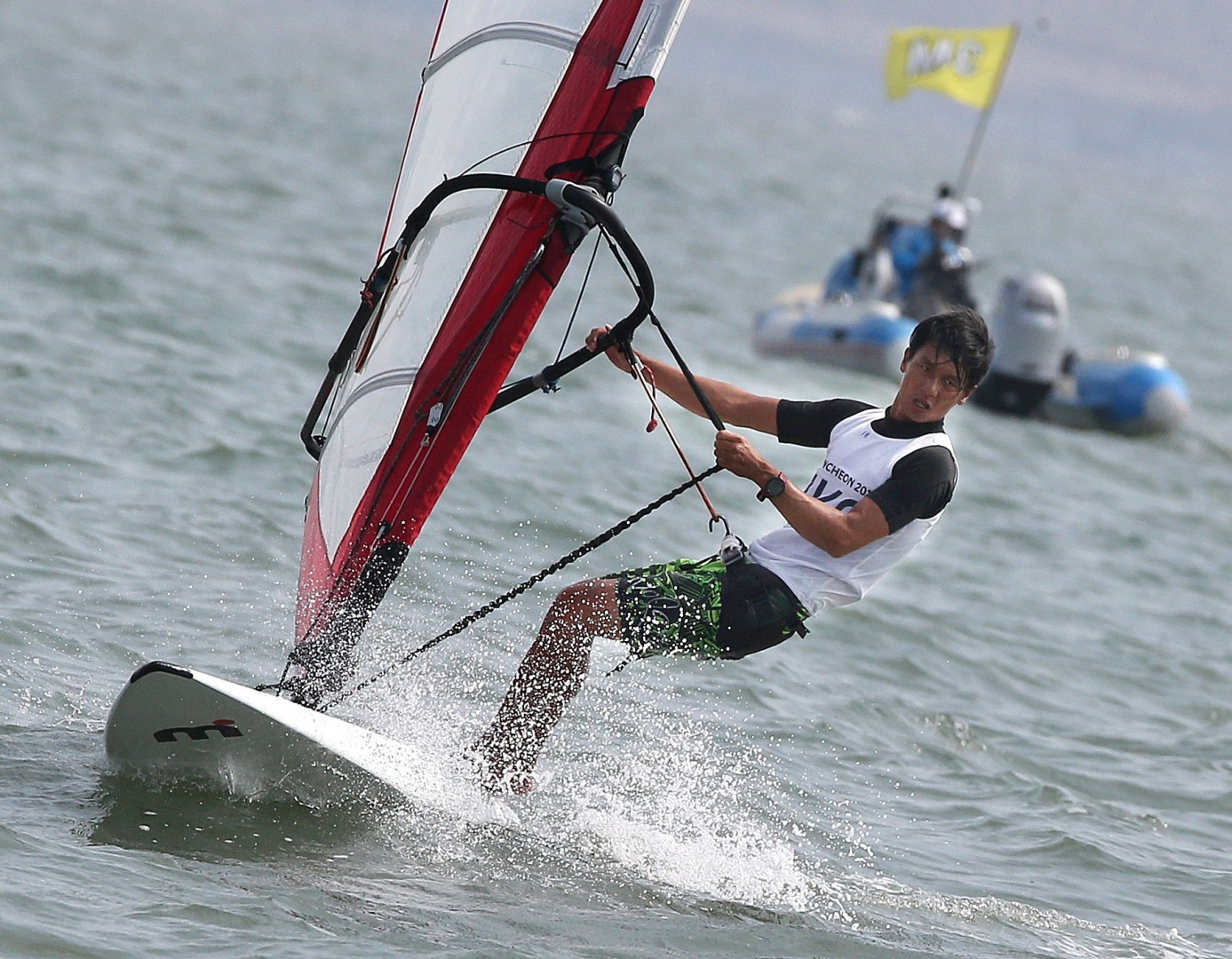 6cffafc13 New equipment provides a stay of execution for windsurfing and makes for  more excitement at Olympic Games | South China Morning Post