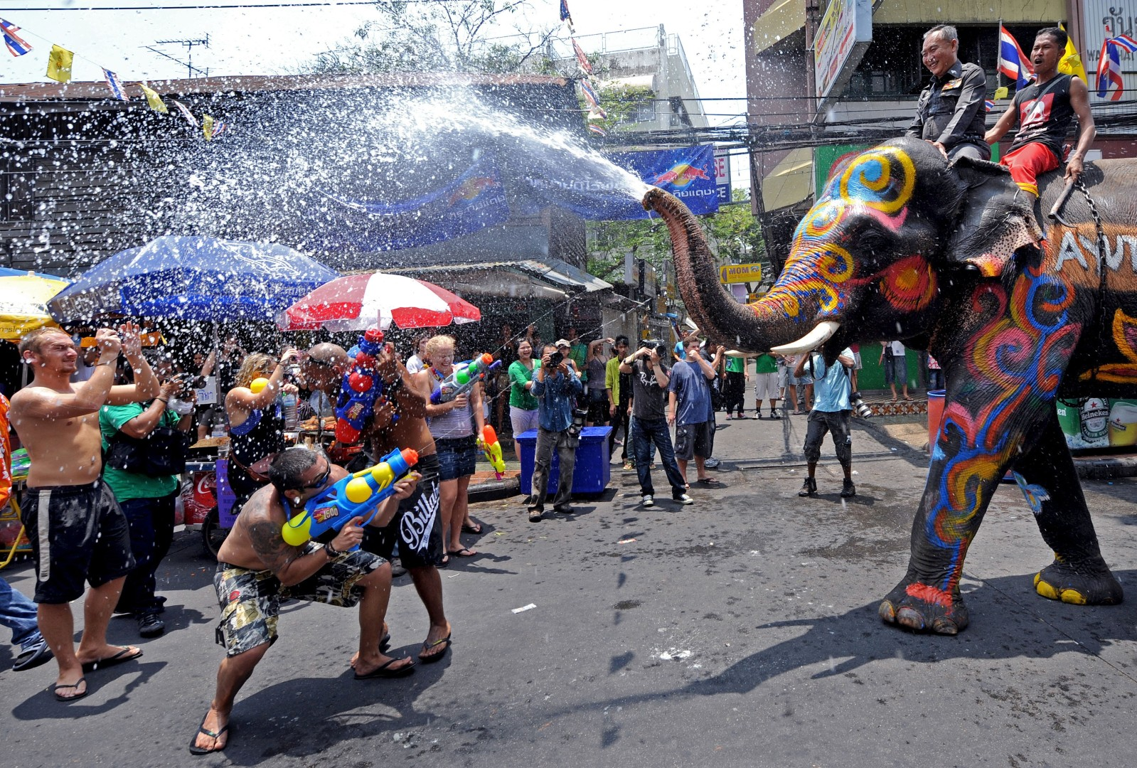Songkran, everything you need to know about Thailand's famous new year water  fight | South China Morning Post