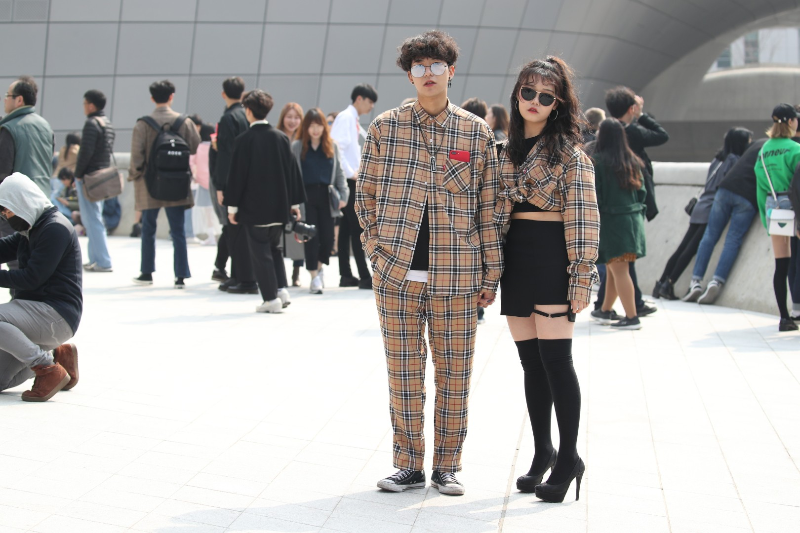 77671eef442 Seoul Fashion Week  nine of the coolest looks from South Korea ...