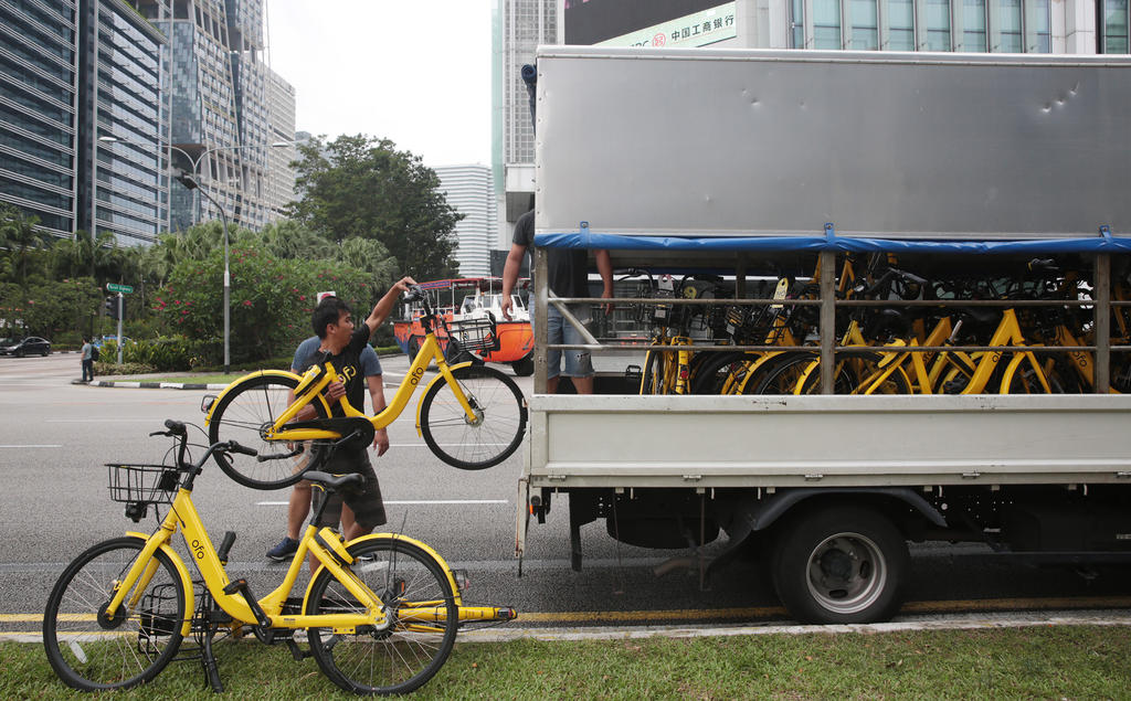da07808ff1e Singapore requires 'geofencing' for all bike-sharing operators in the city  by the end of this year | South China Morning Post