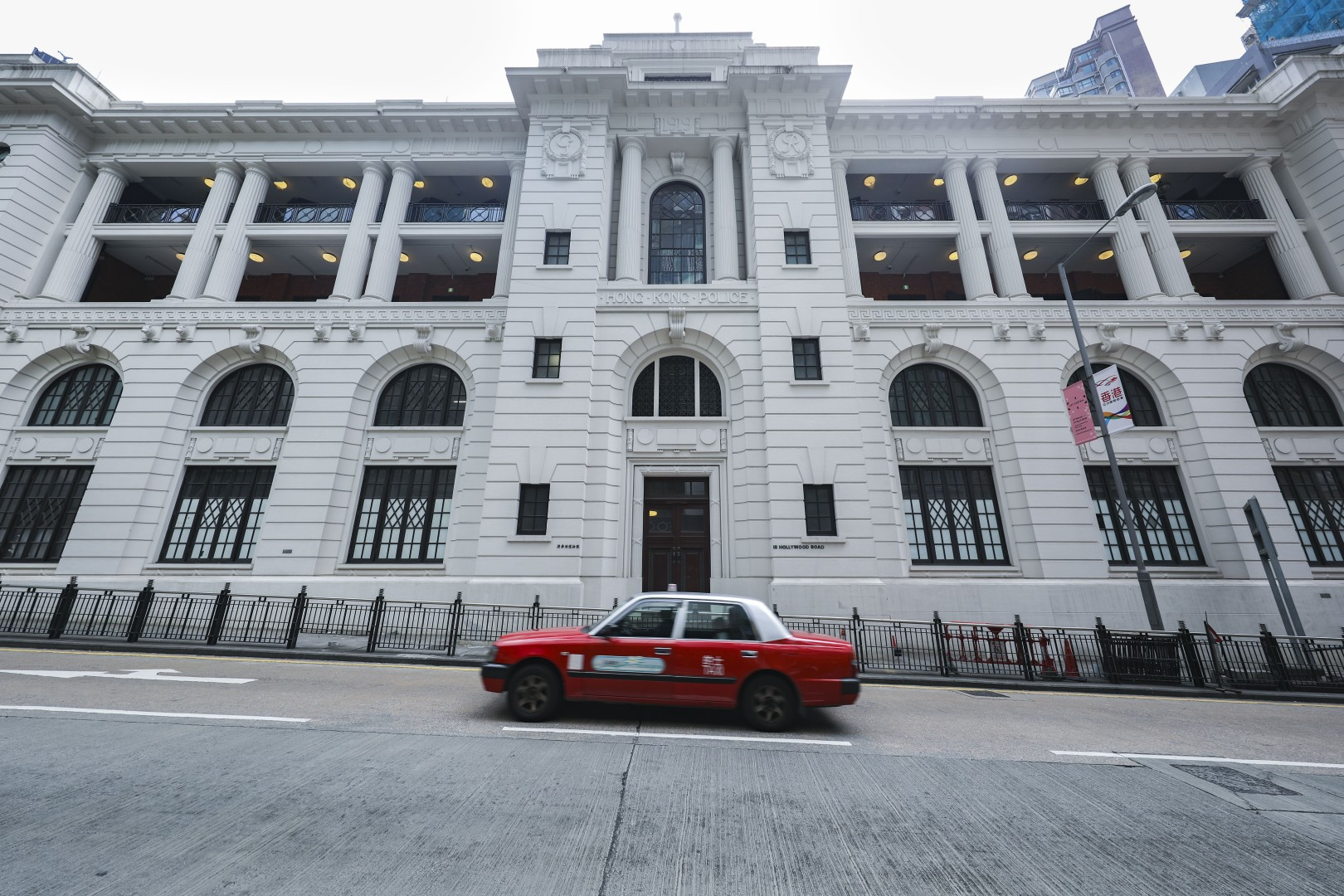 58619e93a79 Why the secrecy surrounding first art show at historic Hong Kong police  station?