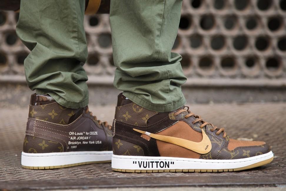 5146ead29488ab Virgil Abloh s Louis Vuitton appointment inspired this Nike Air Jordan 1
