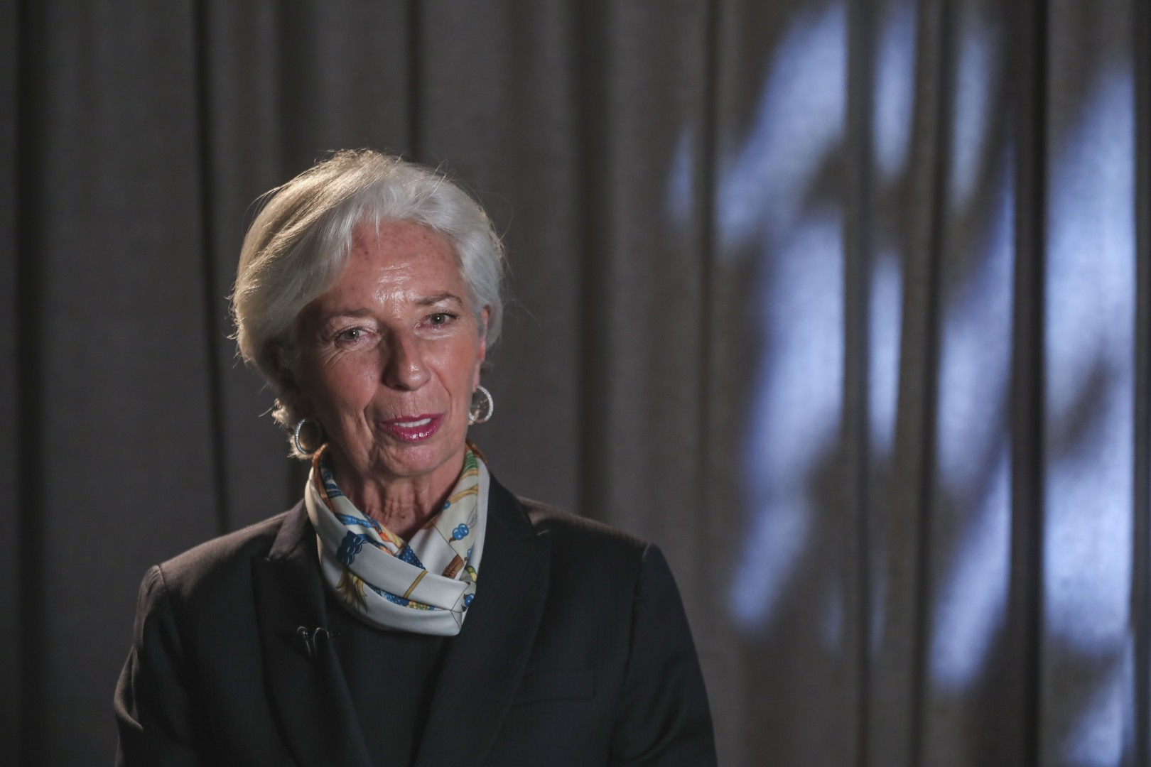 IMF chief Christine Lagarde expresses concern over rising