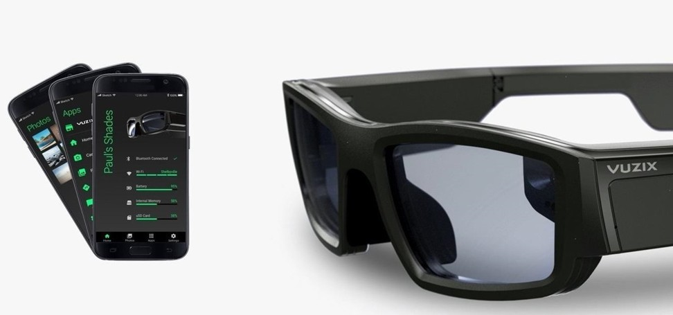 021ce199b2b Smart glasses that let you see your smartphone screen that is out of sight