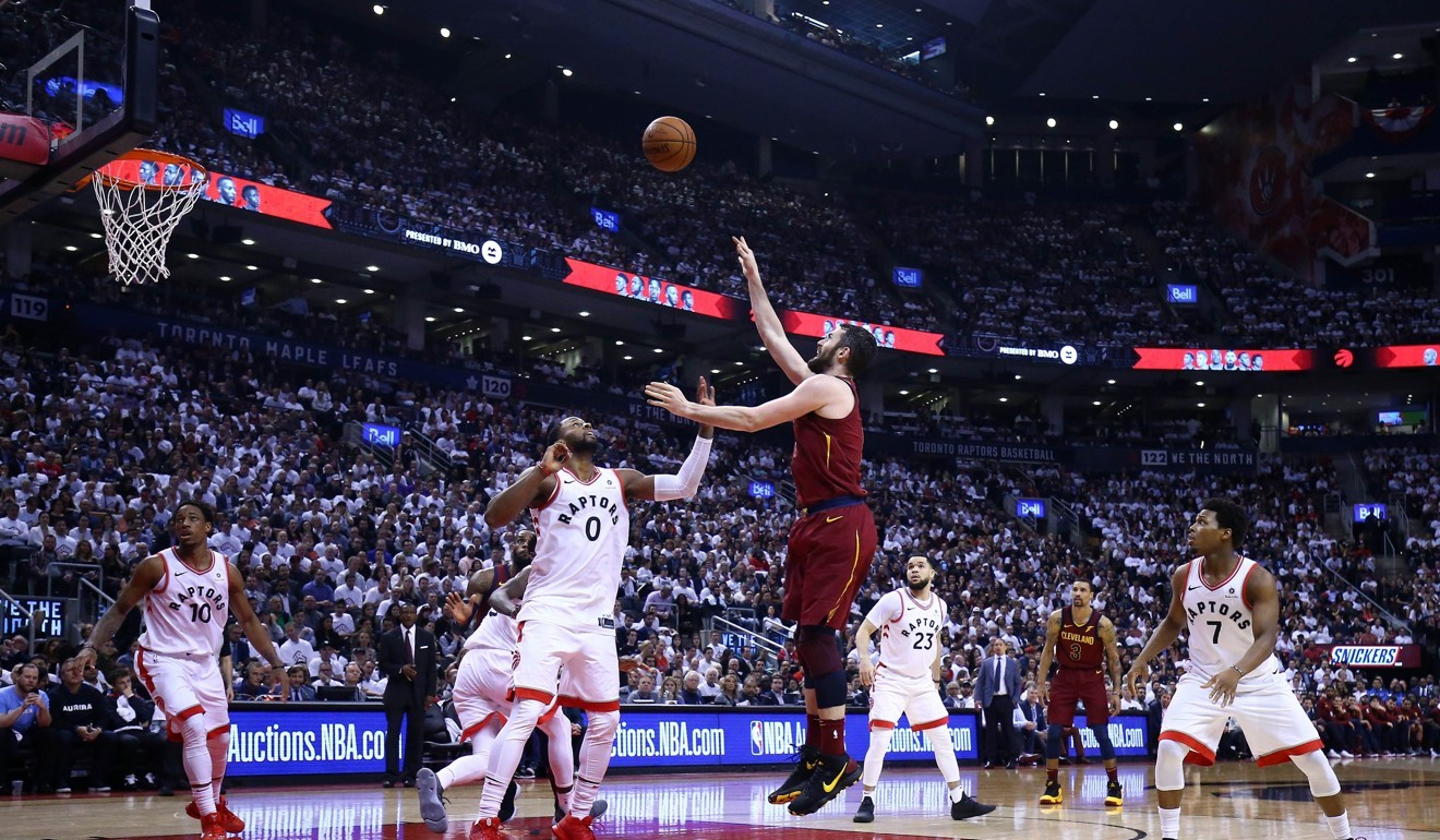 6238fd55dc09d Unstoppable LeBron James on fire as Cleveland Cavaliers top Toronto Raptors  to take firm grip on NBA play-off series