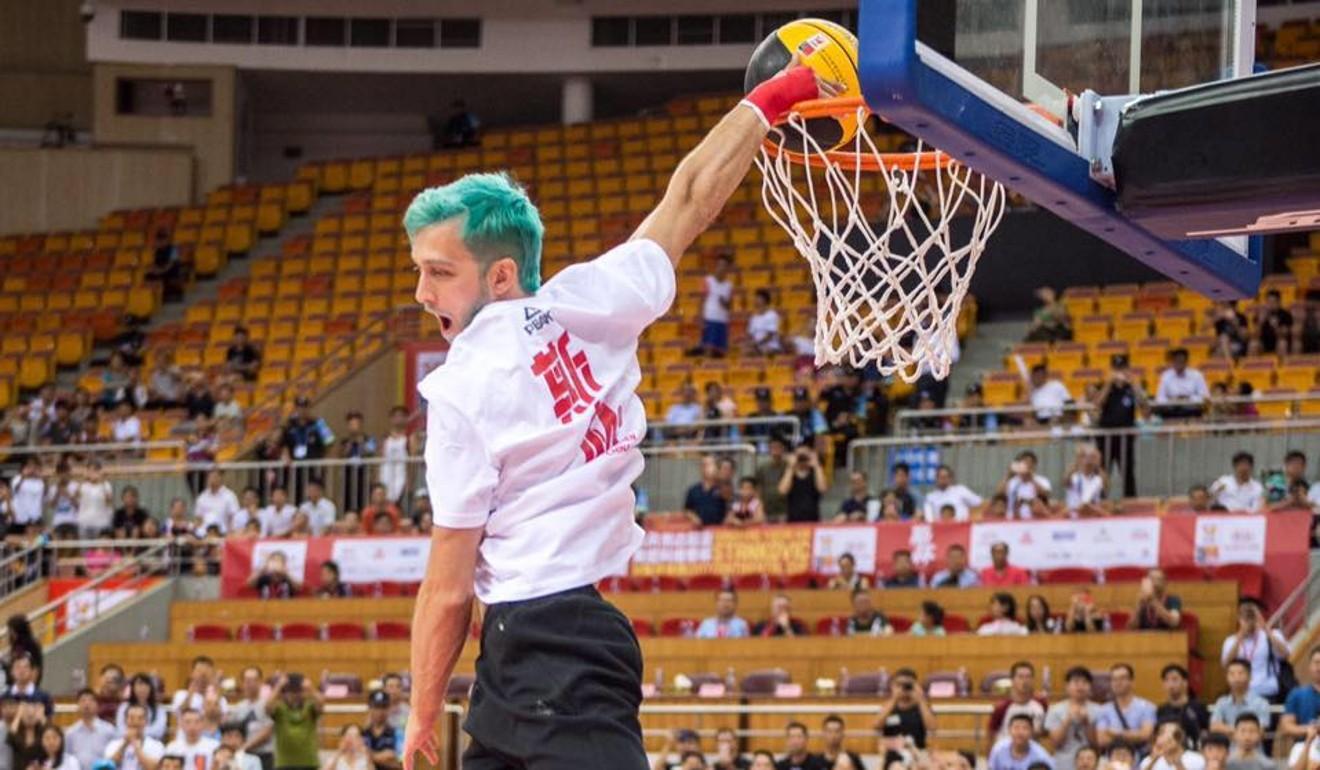 f0be5d9148d9 World s best dunker Jordan Kilganon on performing jaw-dropping dunks in  front of NBA and Hong Kong stars