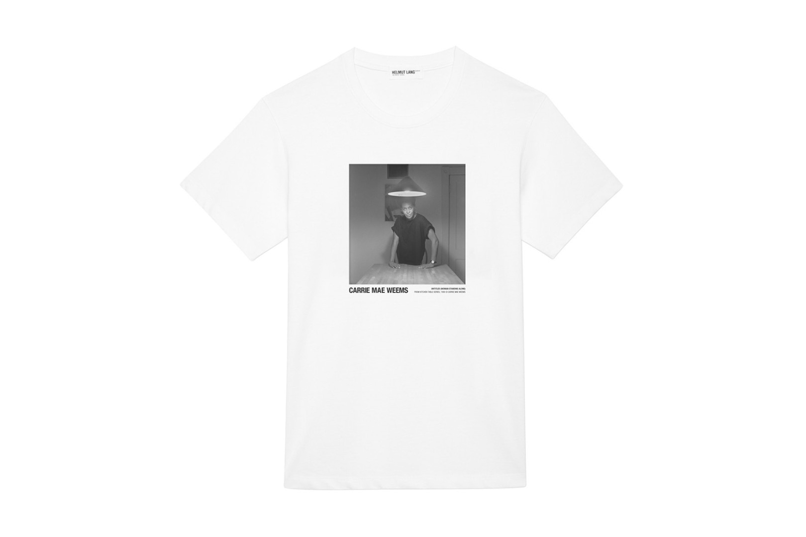 bd1508bcb Helmut Lang and US artist Carrie Mae Weems team up for T-shirt collection |  South China Morning Post