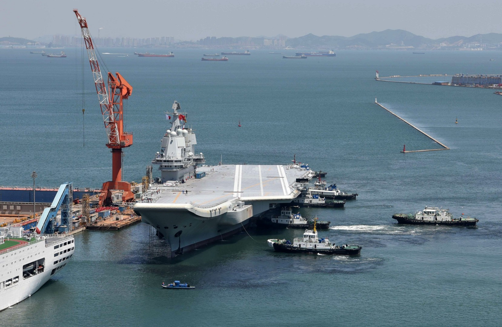 China's first home-grown aircraft carrier finishes maiden sea trial amid  speculation Asia's most advanced destroyer will be next | South China  Morning Post