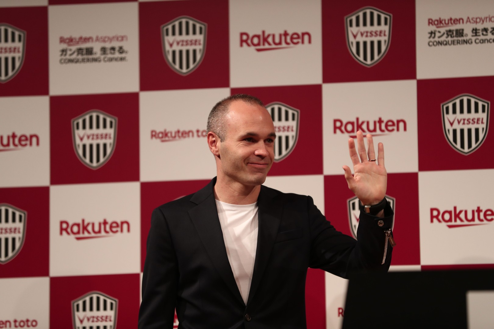 8ca8058d104 Confirmed  Andres Iniesta signs for Vissel Kobe to help spread J.League in  Asia