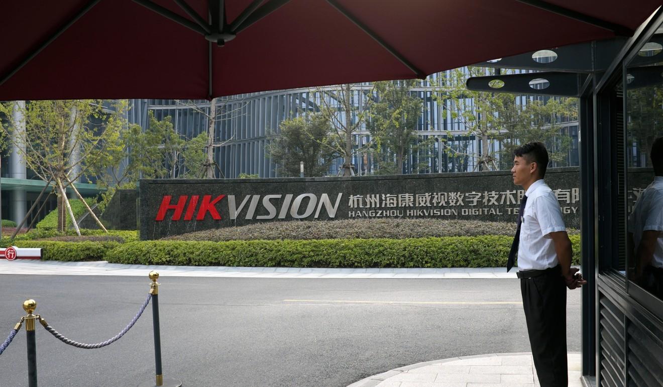 China's Hikvision hits out at US Congress over 'baseless