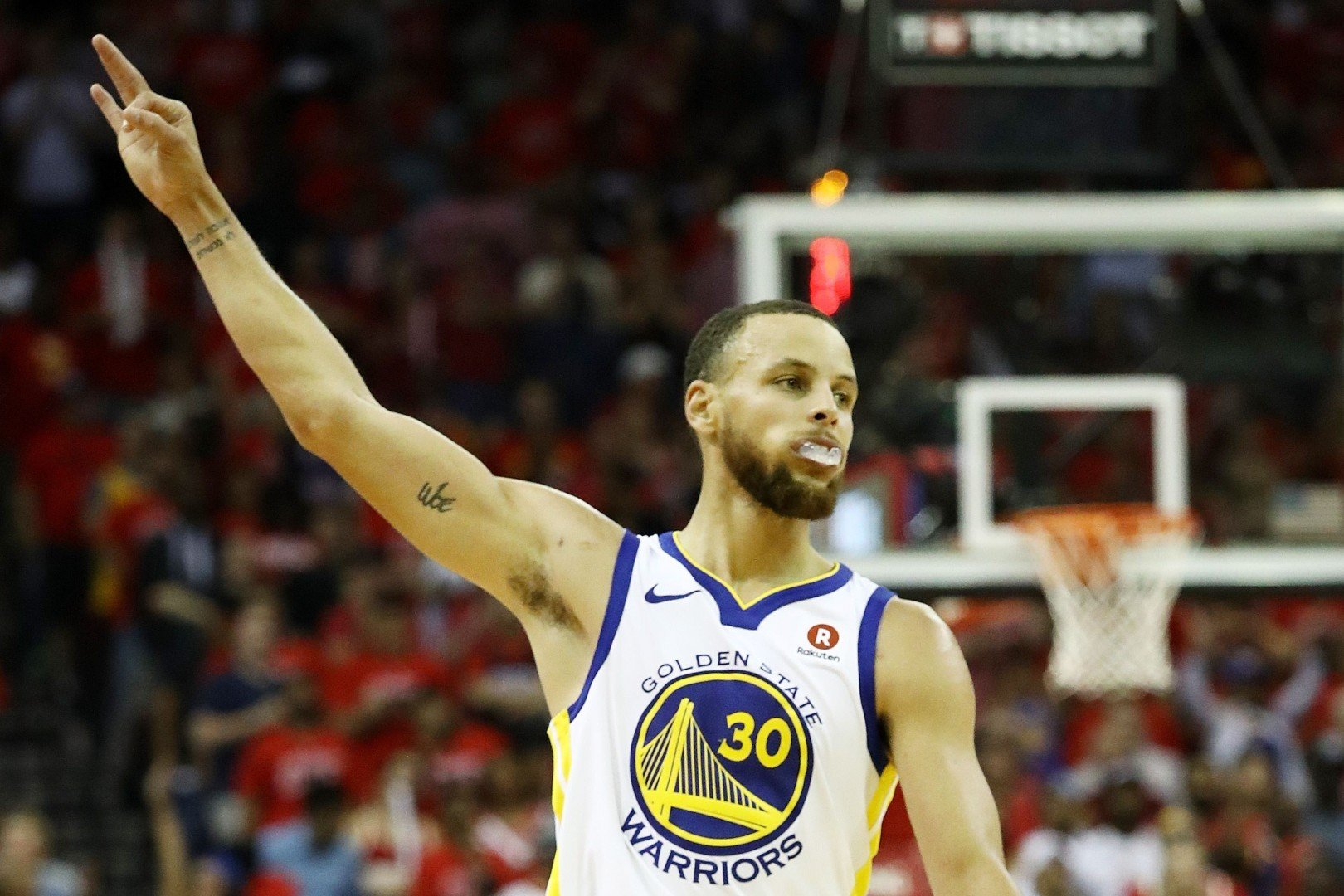 cheap for discount 5ef3a be185 Steph Curry-inspired Golden State Warriors move into NBA Finals with win  over Houston Rockets in game seven   South China Morning Post