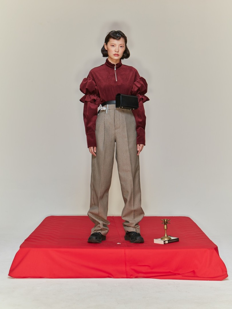 aec076c12f6 How Mad Men and Wes Anderson inspired Chinese fashion duo s darkly feminine  collection