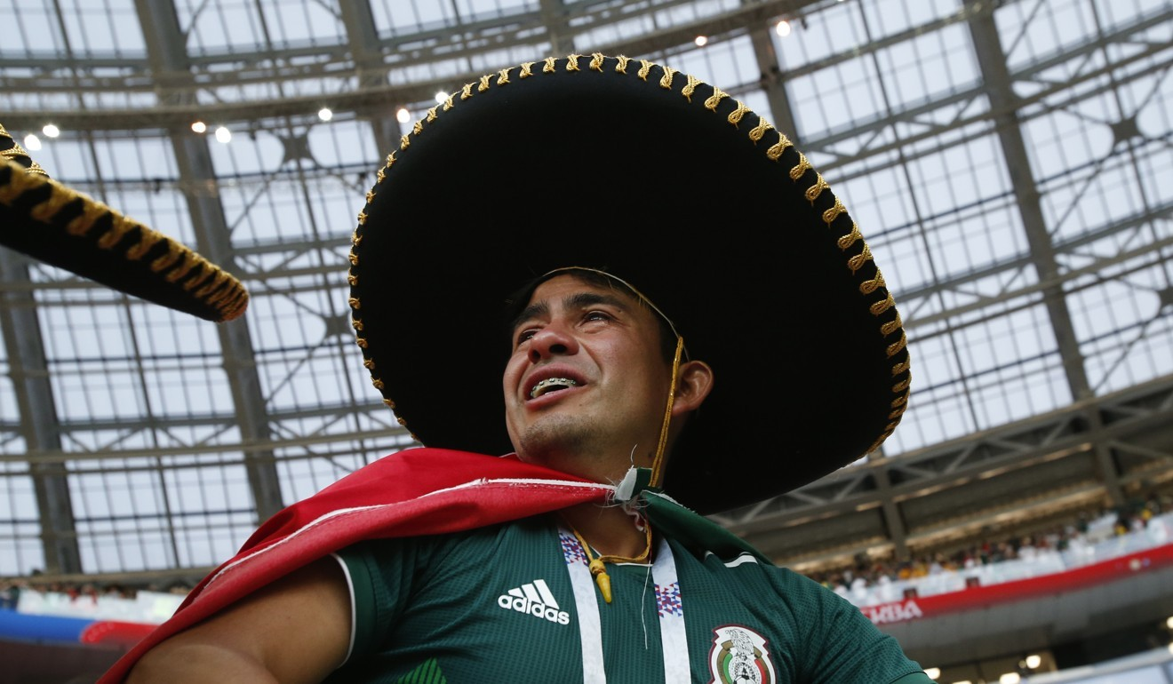 e2f346b7d68 Manuel Neuer powerless to stop Mexico as El Tri beat Germany in Bayern  Munich goalkeeper s return to soccer at World Cup