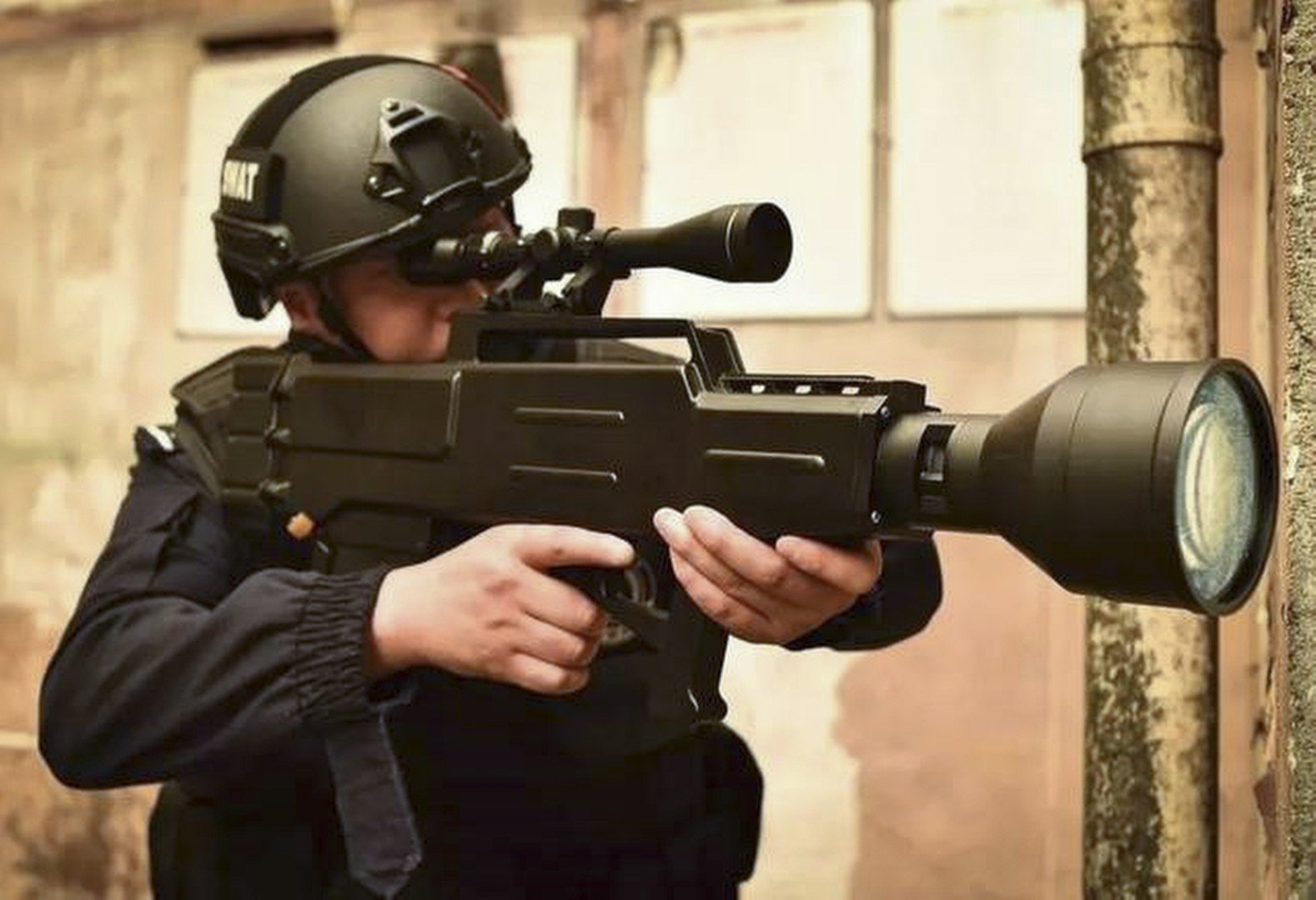 China brings Star Wars to life with 'laser AK-47' that can
