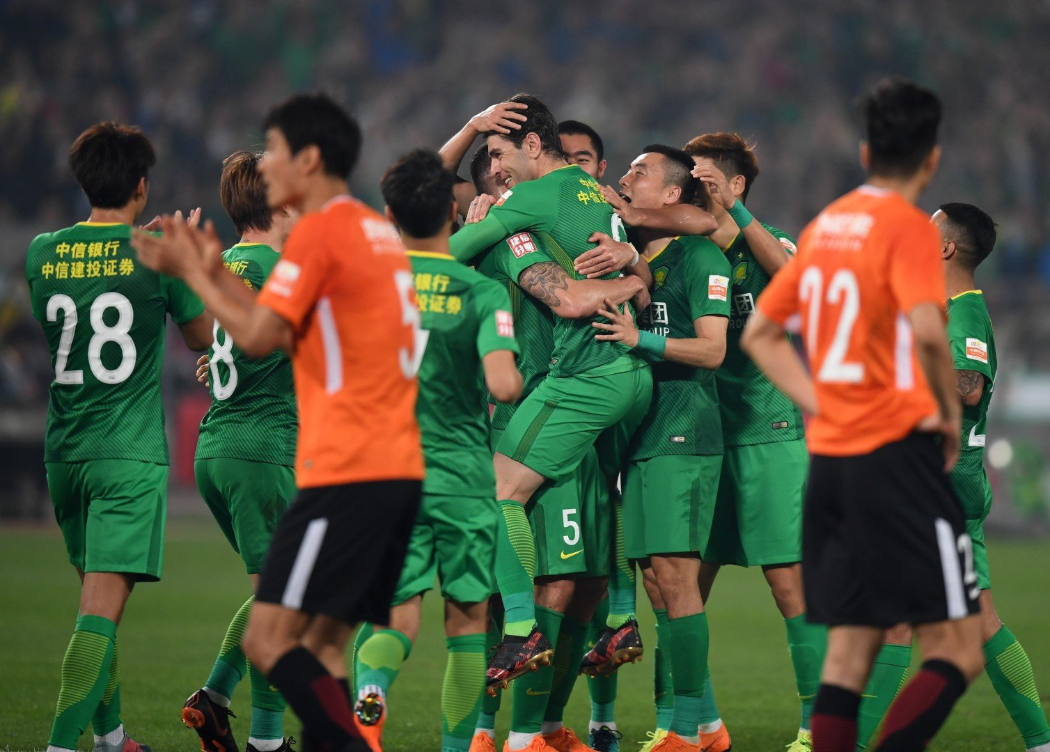 sale retailer f5bec 35925 Chinese Super League leaders Beijing Guoan wage war on Nike by removing all  brand s merchandise from club shop   South China Morning Post