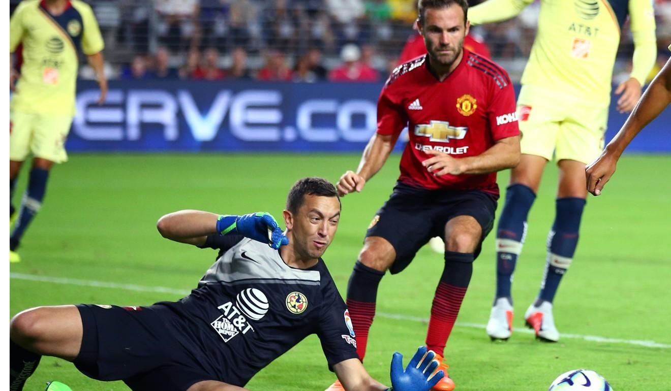 8c1b581c3e14b Manchester United vs Club America preseason tour 2018: Tahith Chong ...