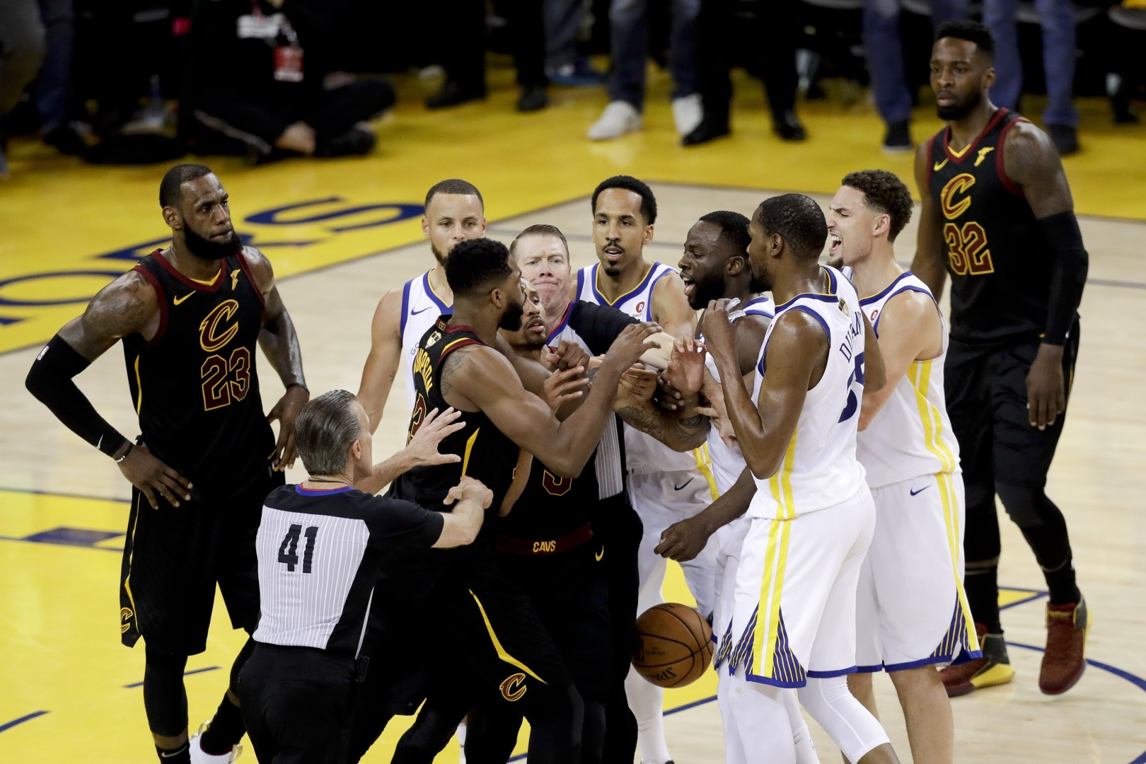 d82294259ab3 Tristan Thompson  punches Draymond Green  in LeBron James  ESPY Awards  after-party altercation