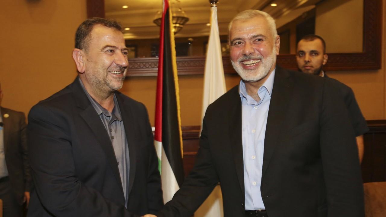 Amr Fawzi hamas leaders gather in gaza to debate ceasefire with israel