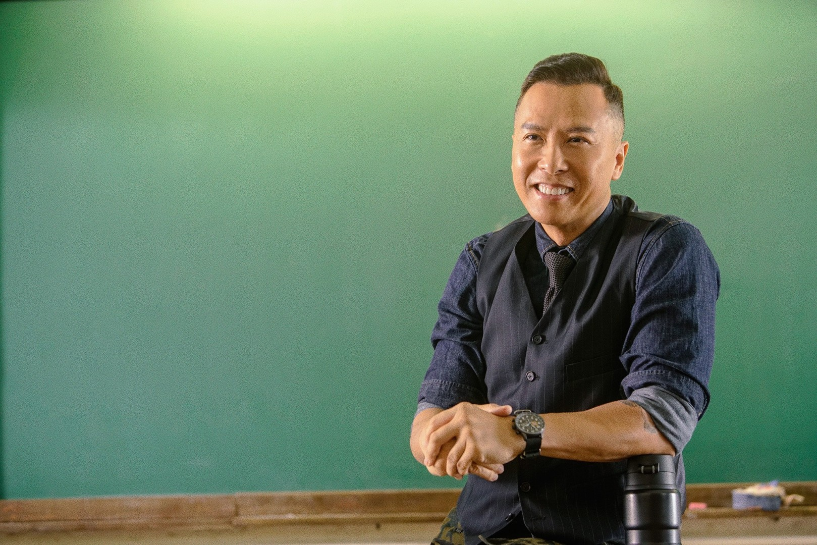 Donnie Yen Talks Mulan Ip Man 4 And His Passion Project Big
