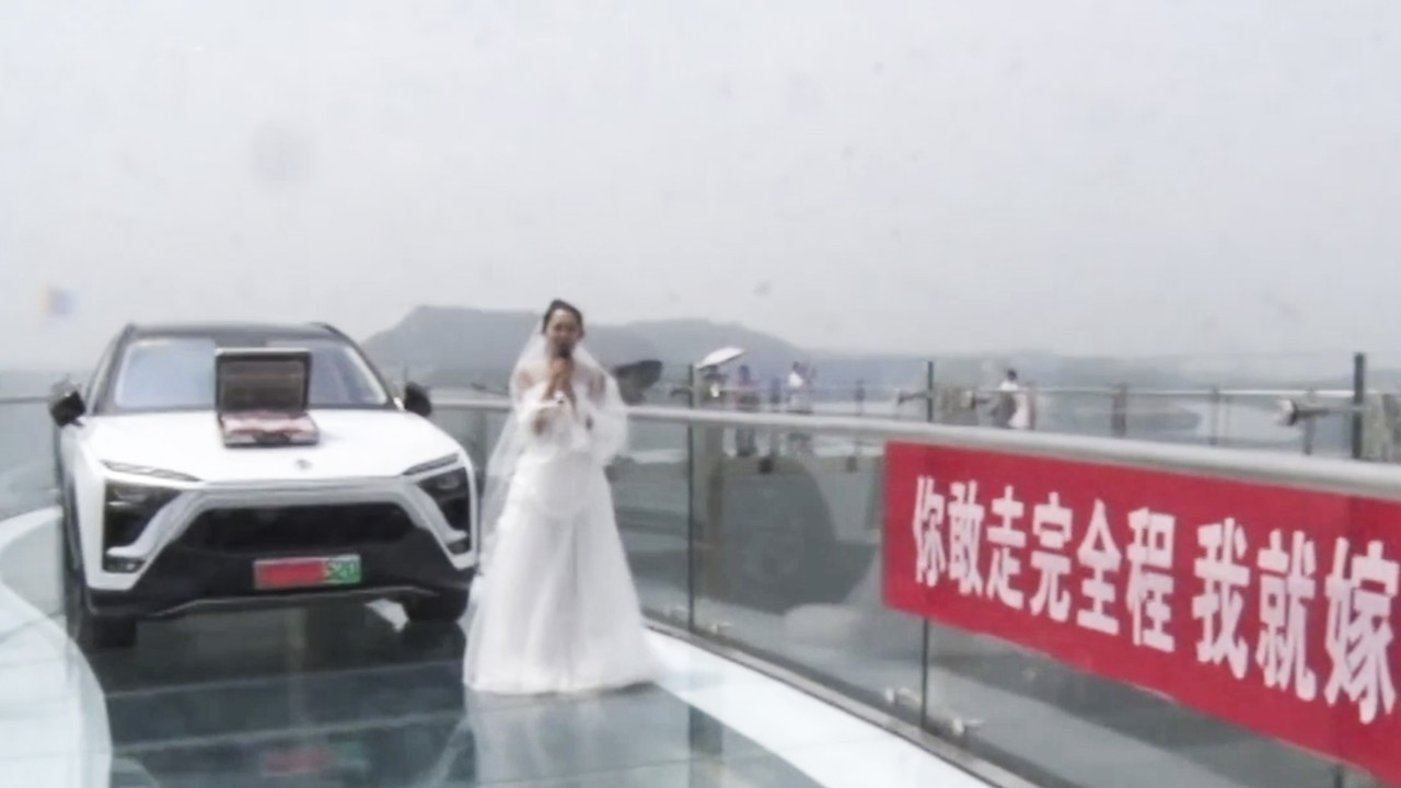 Guardianship Denied For Would Be Groom >> Chinese Woman S Glass Bridge Proposal To Cowardly Boyfriend