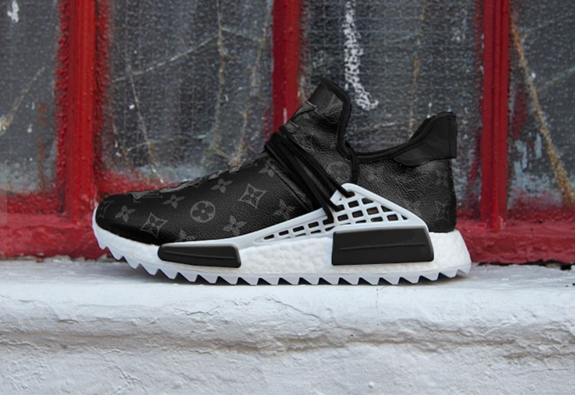 1fc9abb452951 Louis Vuitton x adidas  Eclipse  NMD Hu puts other sneakers in the shade