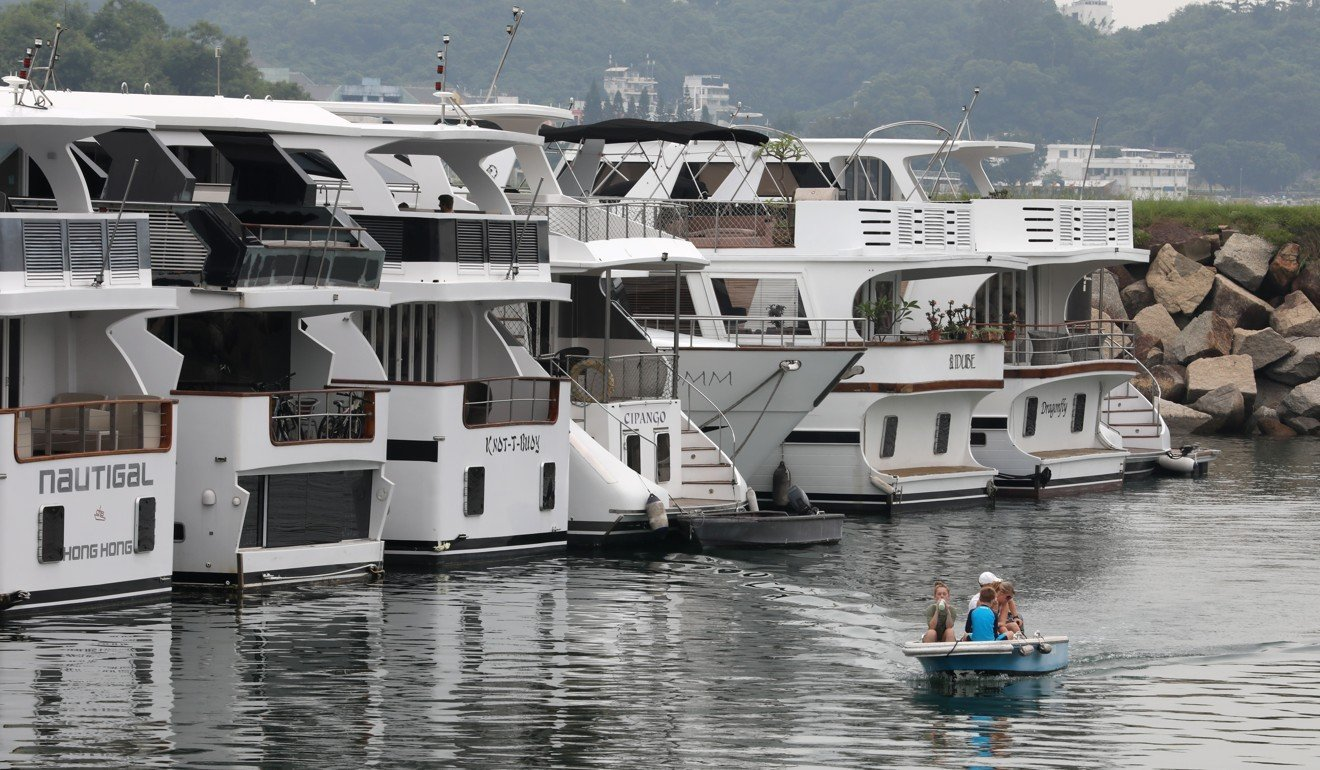 Discovery Bay boat owners in silent protest over marina's plans to