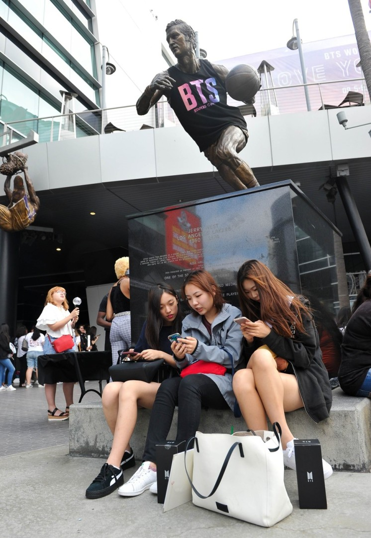 Devoted BTS fans make pilgrimage to South Korea to get closer to