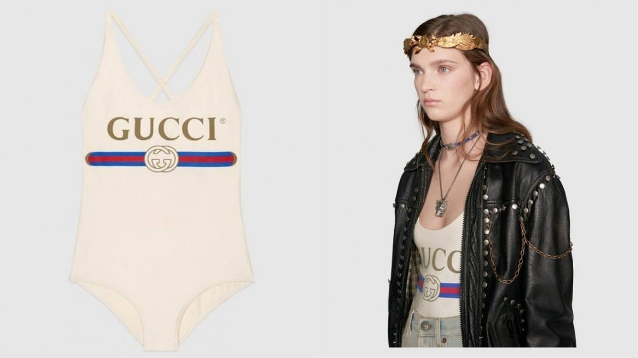7a4301348 Meet Gucci's 'loud and proud' US$380 swimsuit - which can't be worn in  pools | South China Morning Post
