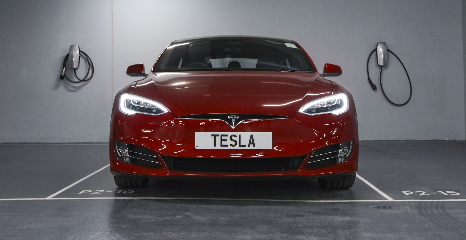 Tesla opens new Hong Kong electric car charging station, the