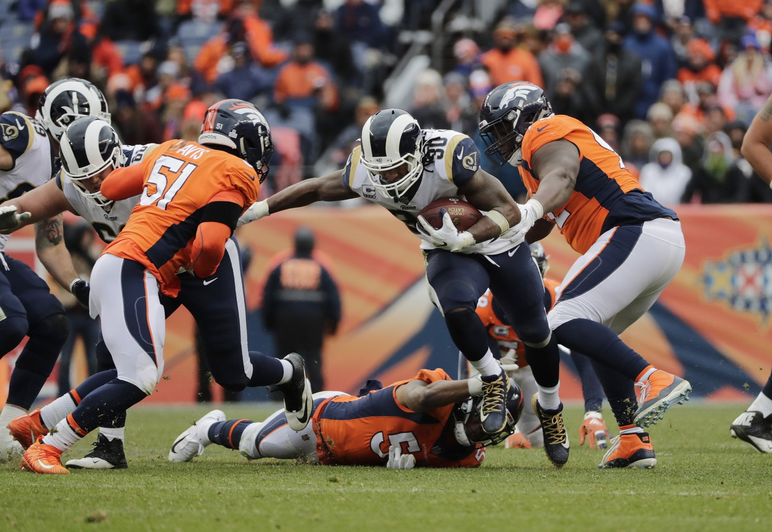 586825494 NFL round-up, week six: Todd Gurley tops 200 yards as Los Angeles Rams edge  Denver Broncos | South China Morning Post