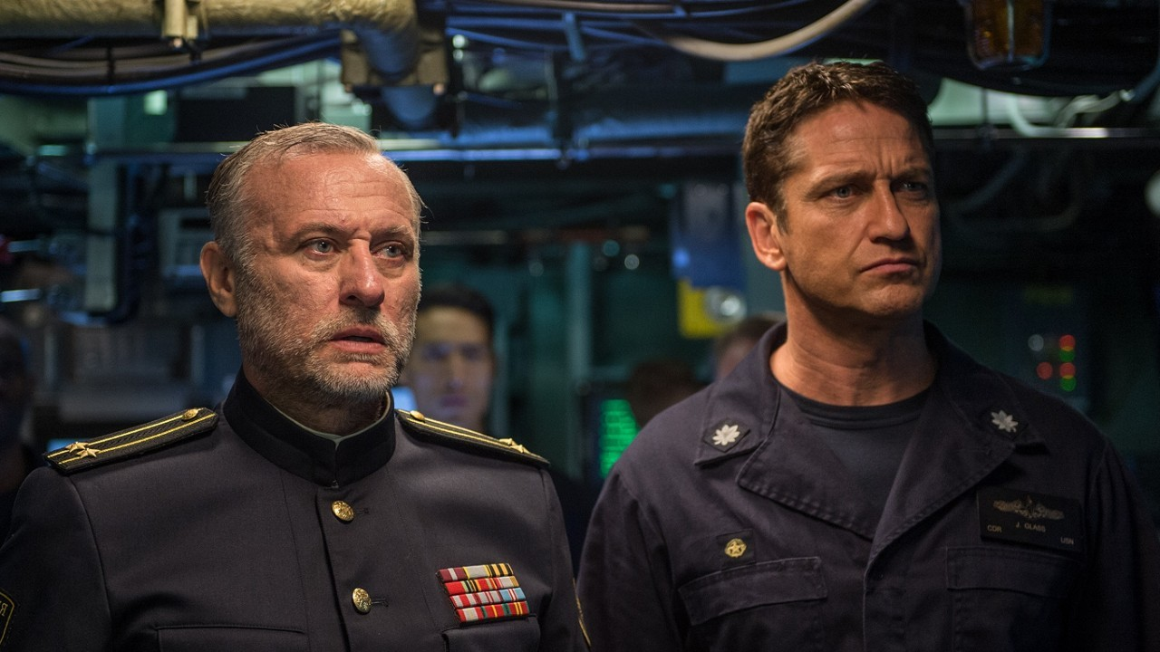 4b297d209d25 Hunter Killer film review  Gerard Butler