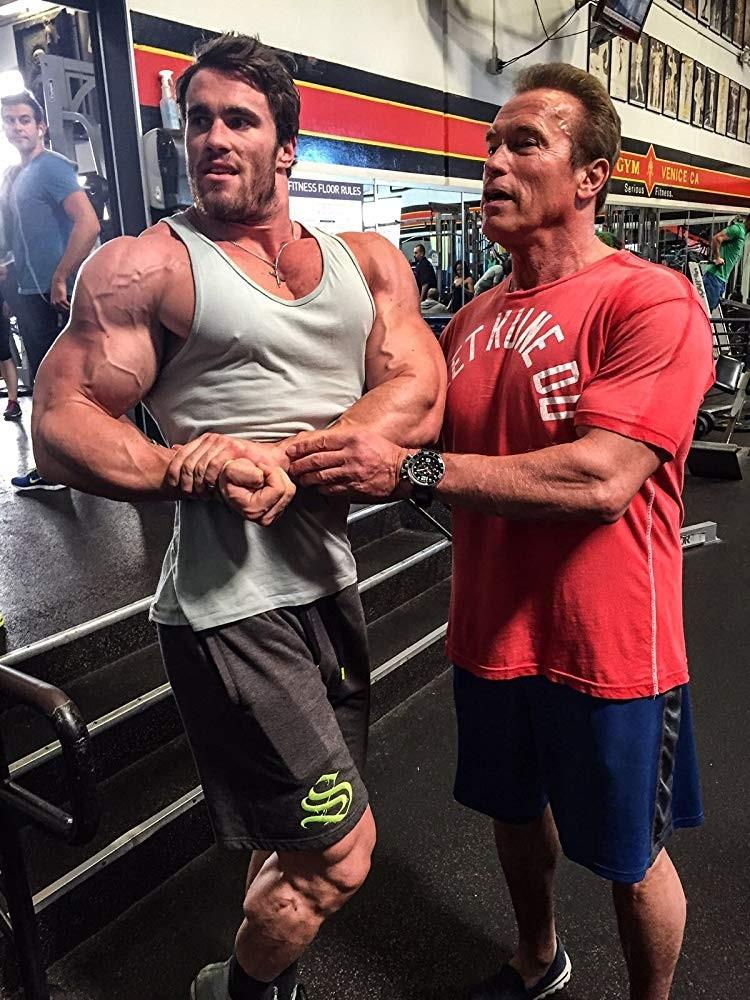 Arnold 2 0: how Calum Von Moger played young Schwarzenegger