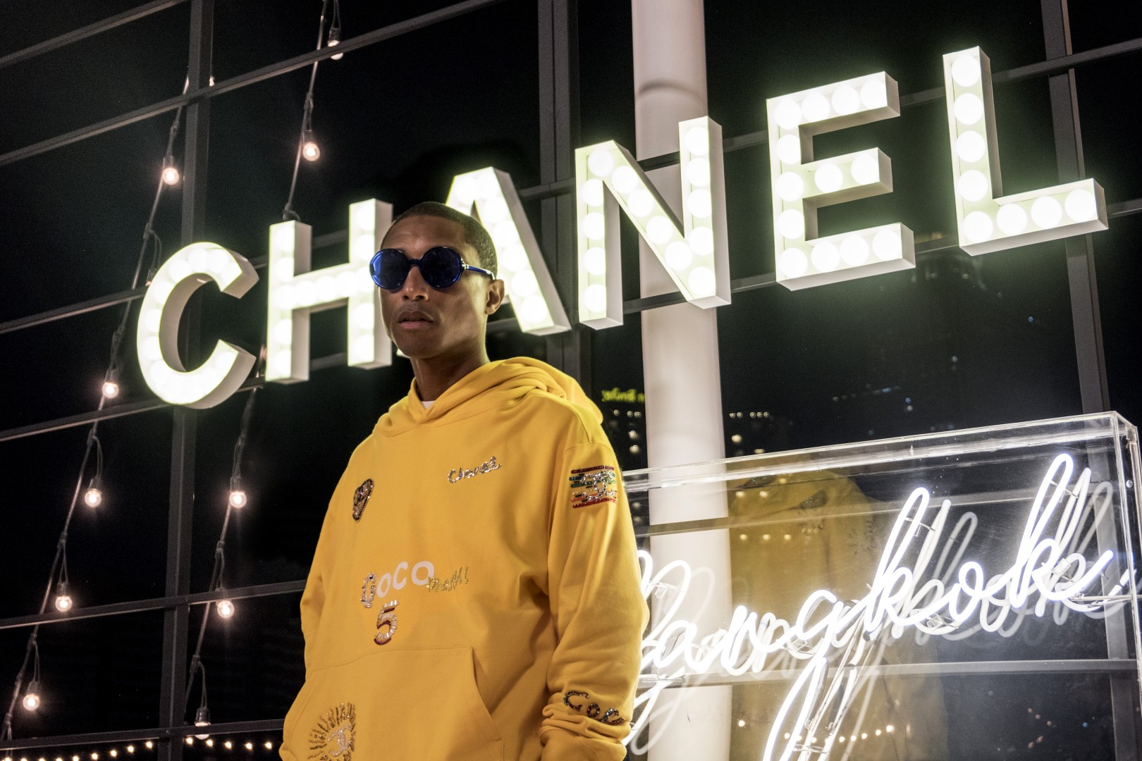 f1cd48d7b189c We re  Happy   Pharrell Williams reunites with Chanel for 2019  spring summer collection