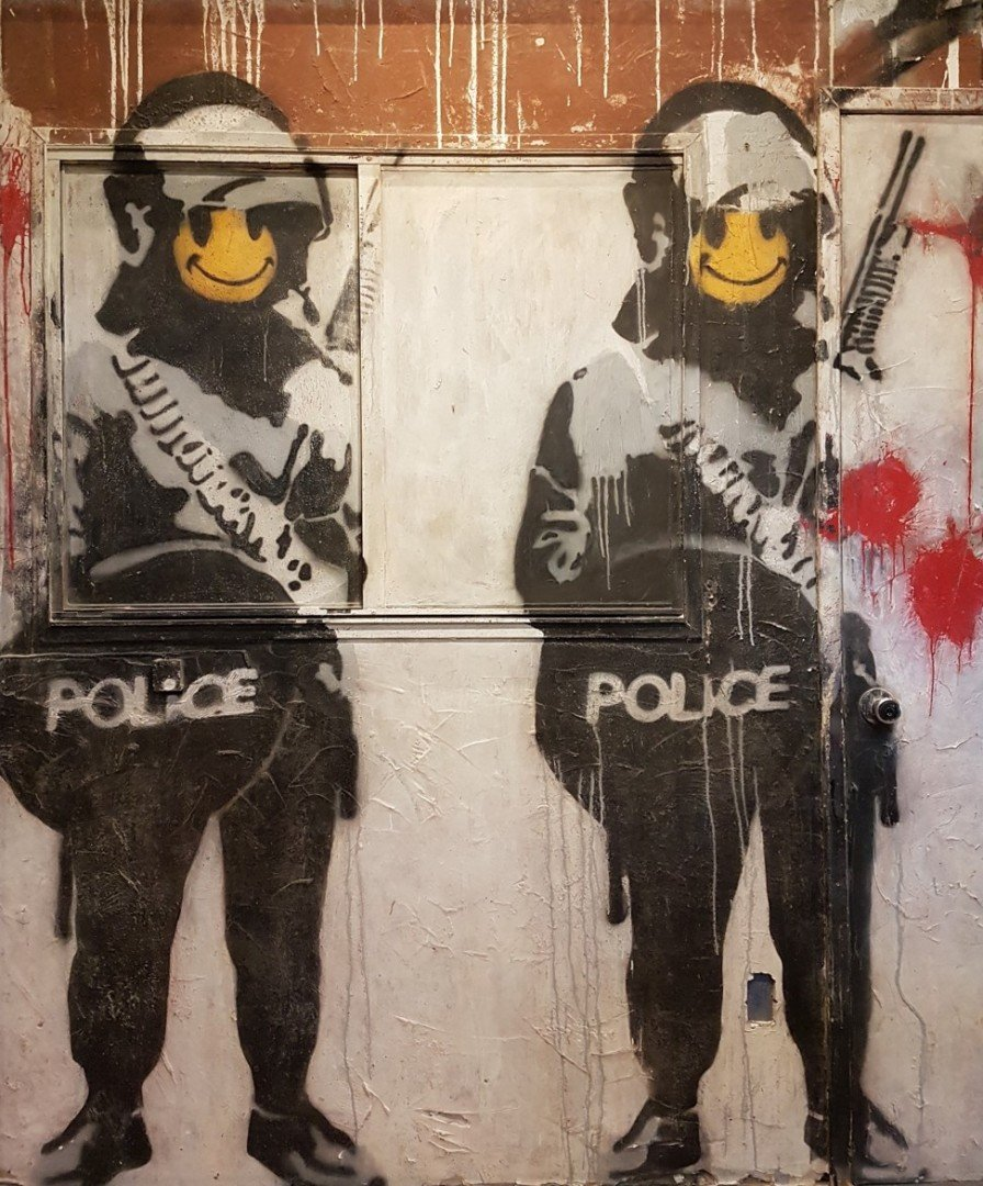 Fancy Seeing Rare Banksy Artwork In Hong Kong Just In Case It S Shredded Soon South China Morning Post