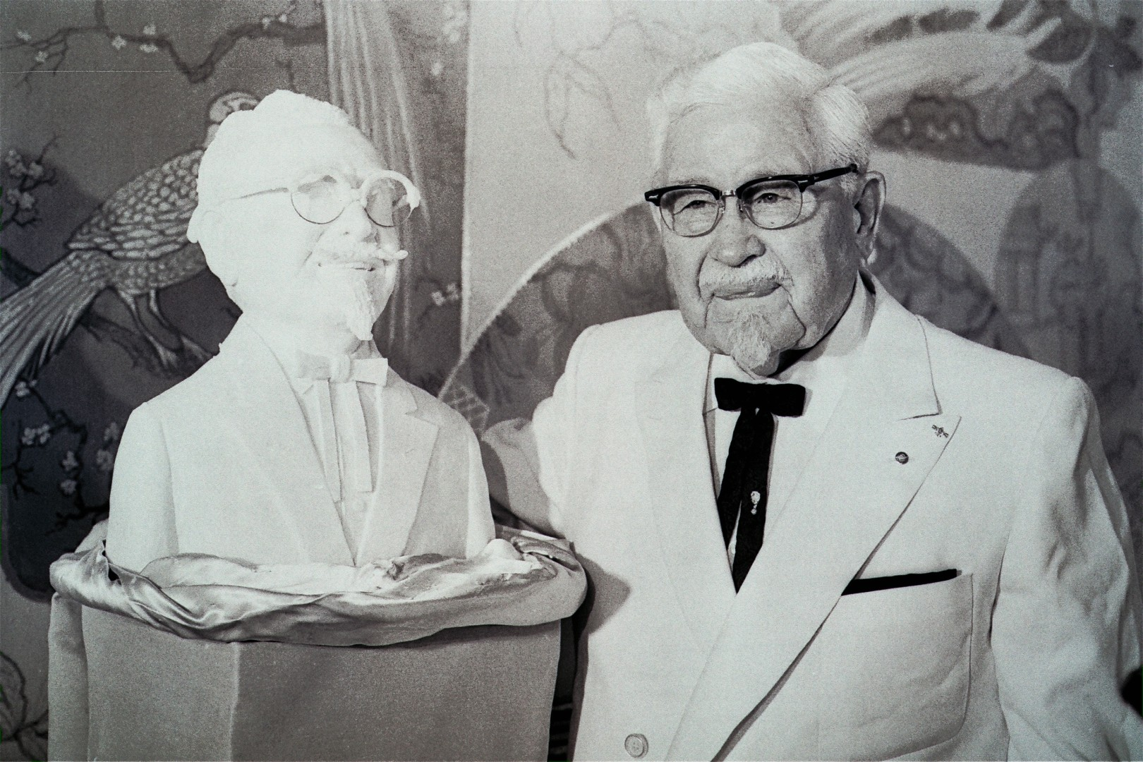 166a0b22caf From KFC founder Colonel Sanders  white suit to Antiques Roadshow – the  life of America s second ever female auctioneer