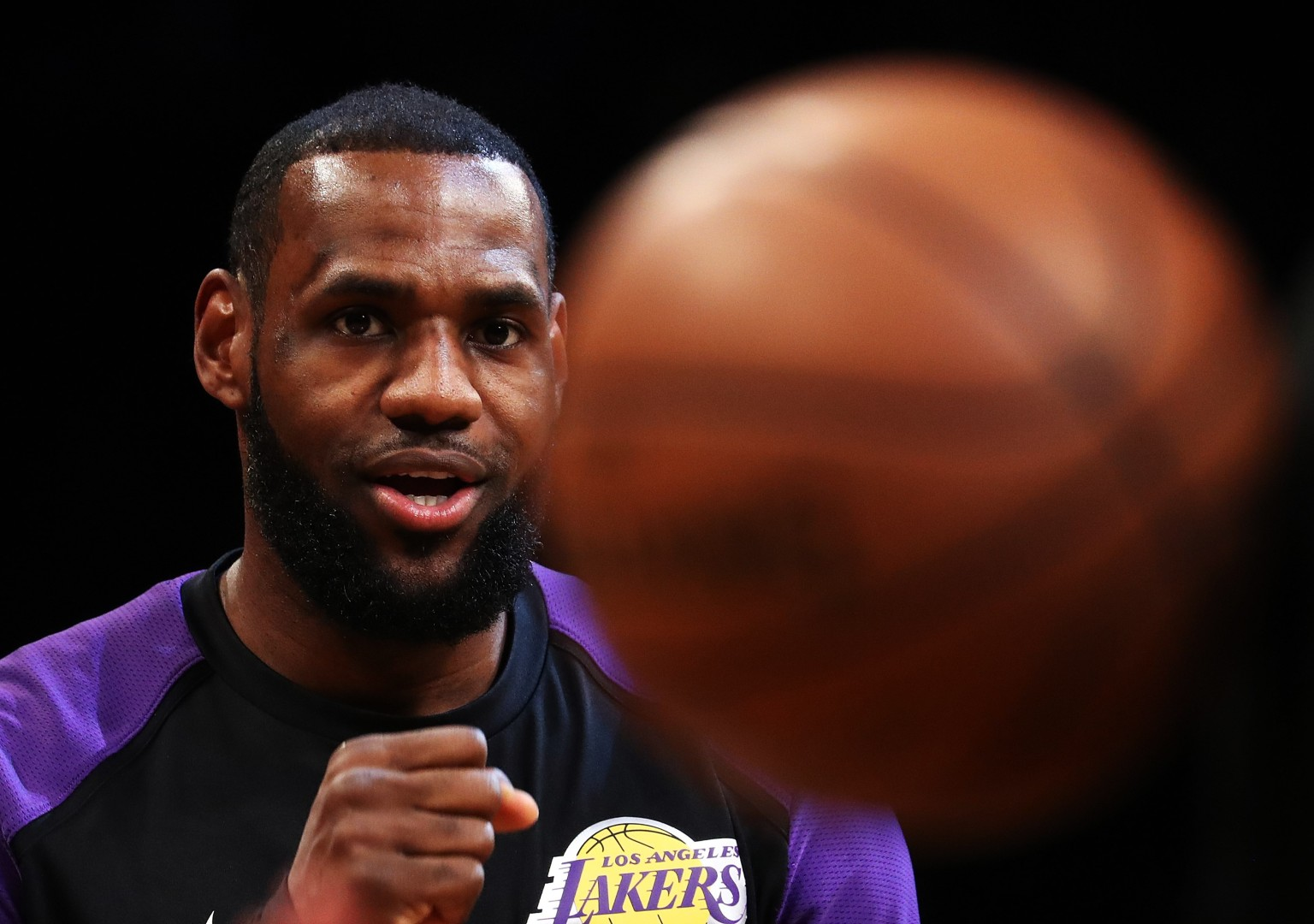 429191801ff9 LeBron James on  The Shop   NFL owners are old white men with slave  mentality toward players