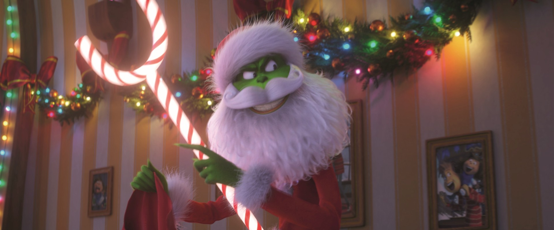 The Grinch Film Review Benedict Cumberbatch Voices Dr