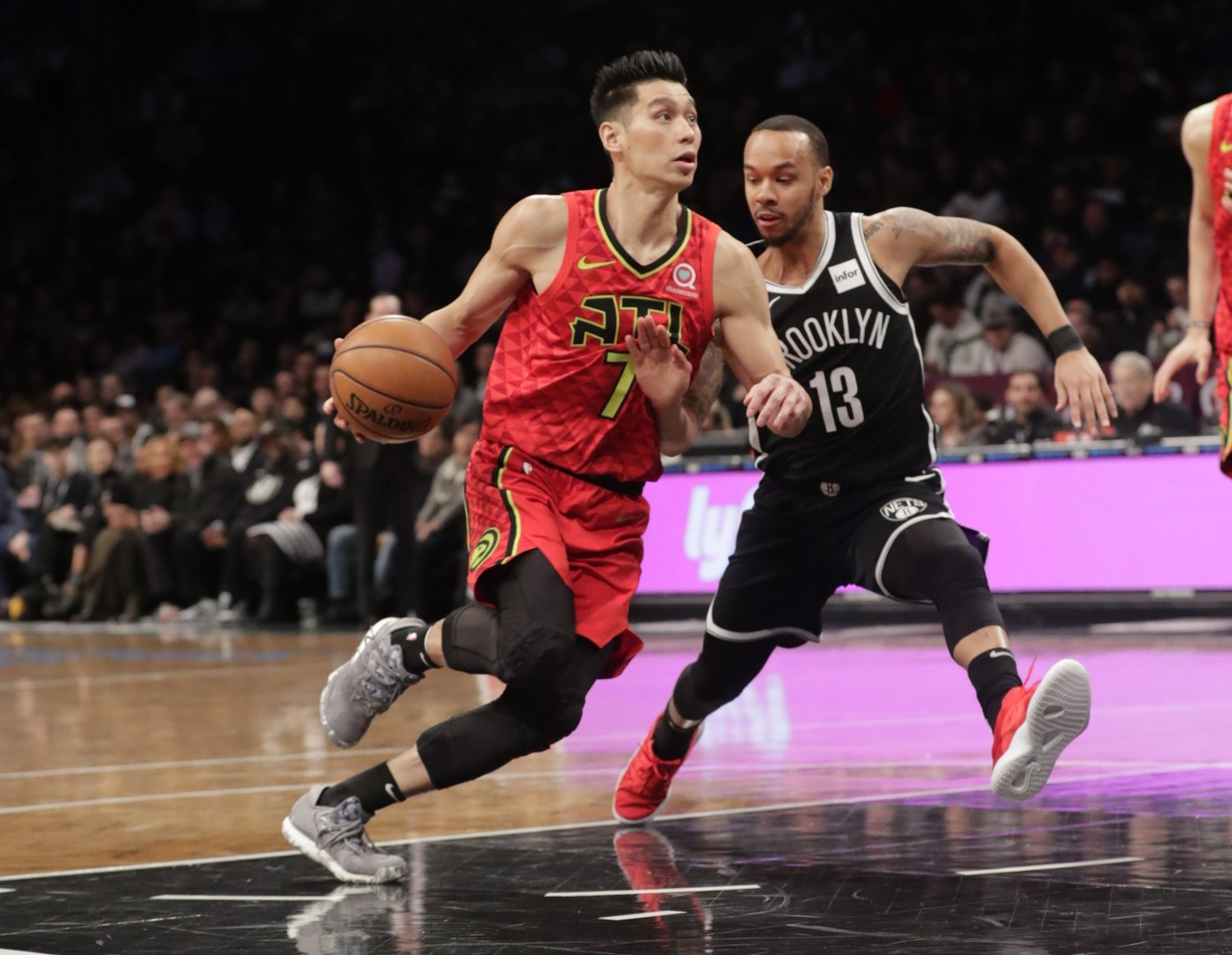 63376585f53 Jeremy Lin philosophical as mini-revival continues in Atlanta Hawks defeat  by Brooklyn Nets
