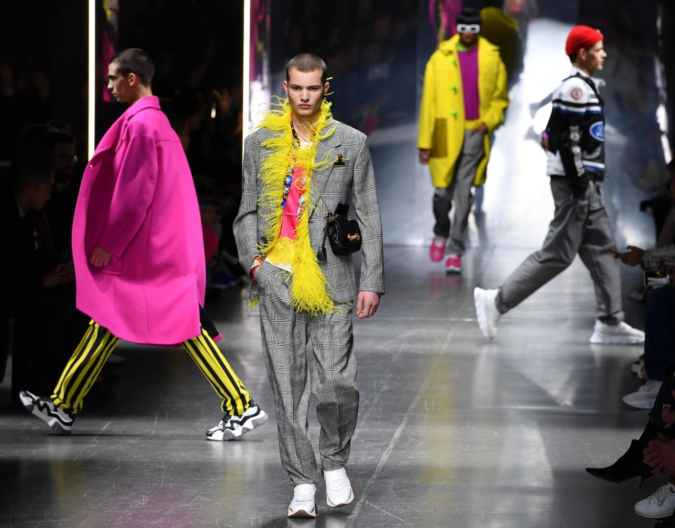 a7a74a65 Versace sets men free in first show since Michael Kors buyout | South China  Morning Post