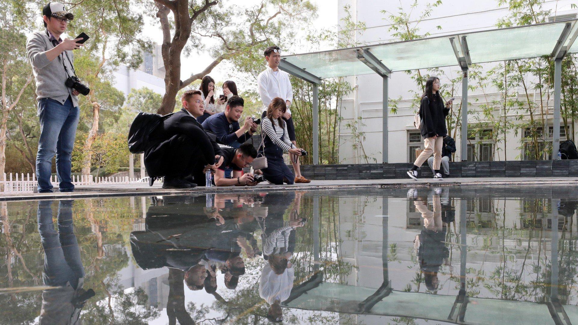Harmony lacking at scenic university pavilion as mainland