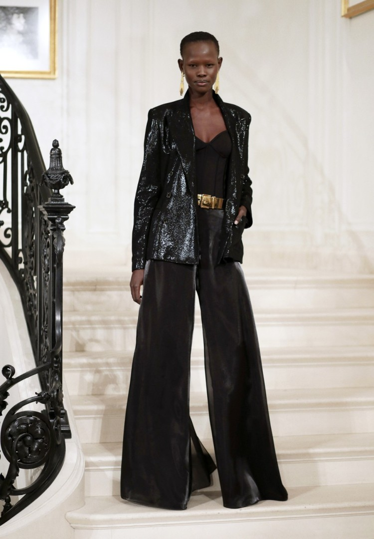 aeef2a97c002 New York Fashion Week: Ralph Lauren keeps show small but intimate   South  China Morning Post