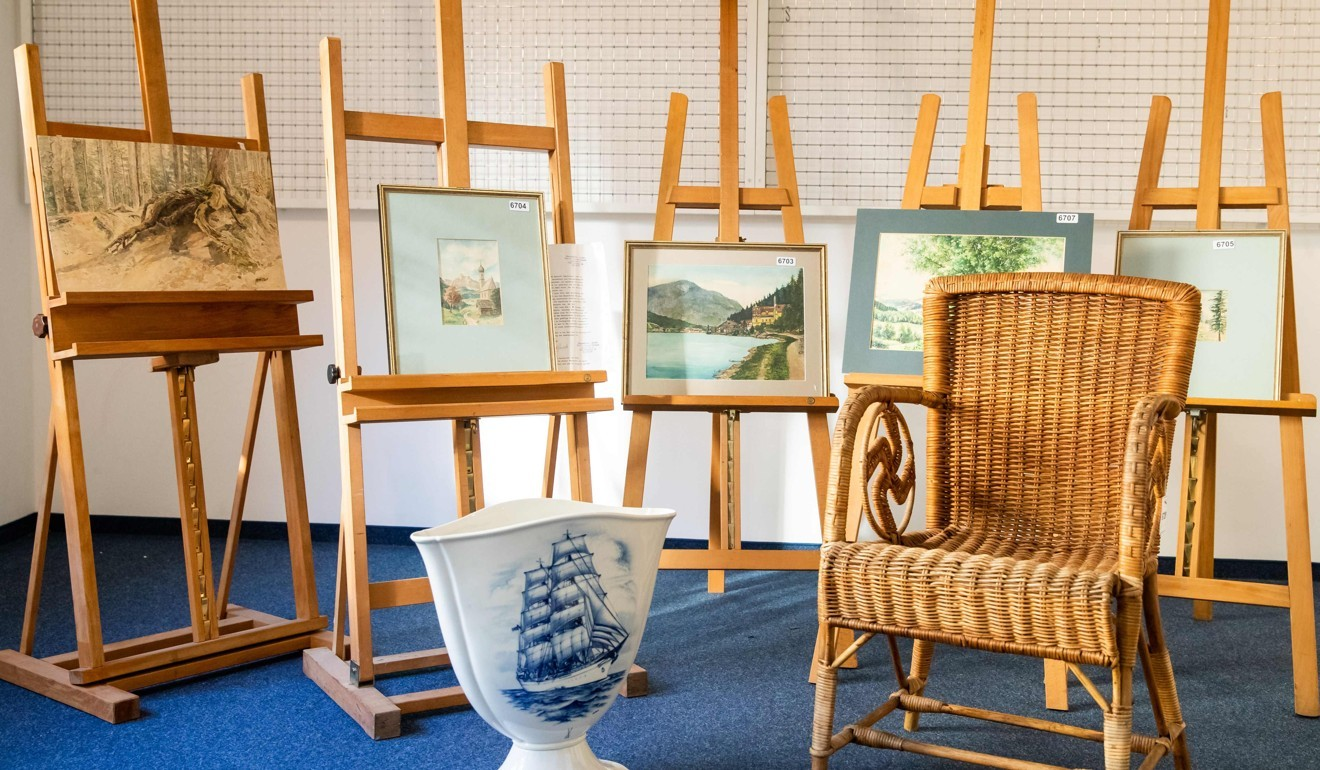 The \'Adolf Hitler\' paintings no one wanted to buy | South China ...