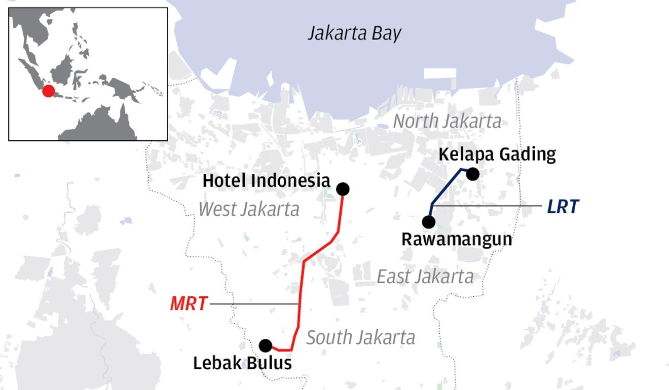 Jakarta's long ride to an MRT is almost over. Will it boost Widodo on