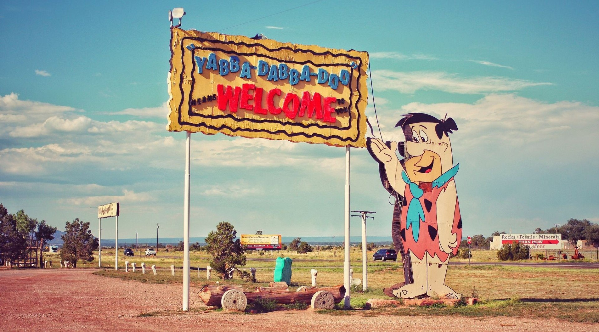 Gay old closing time – Flintstones theme park near the Grand